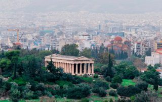 athens architecture tour