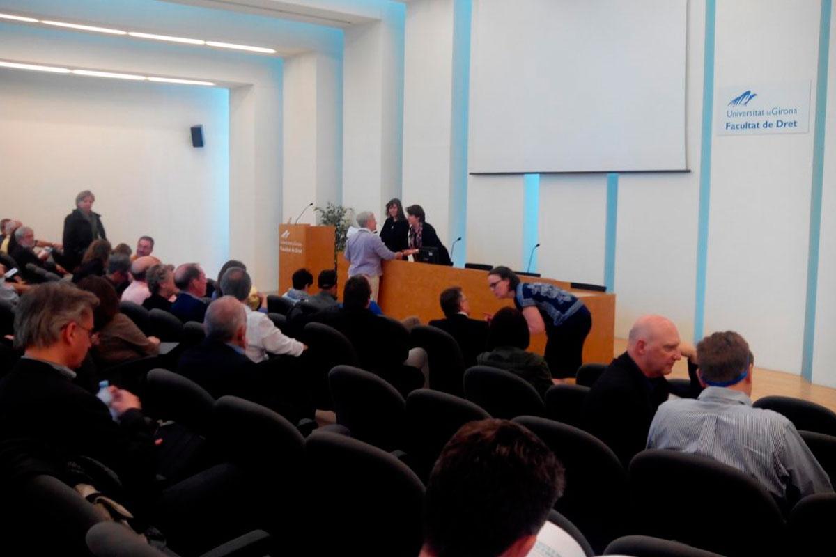seminarer i auditoriet
