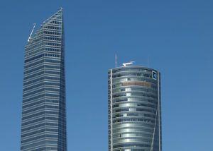 madrid skyscrapers