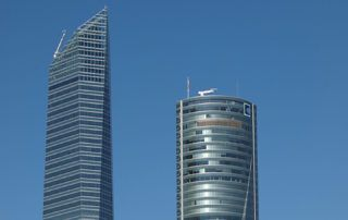 madrid skyscrapers