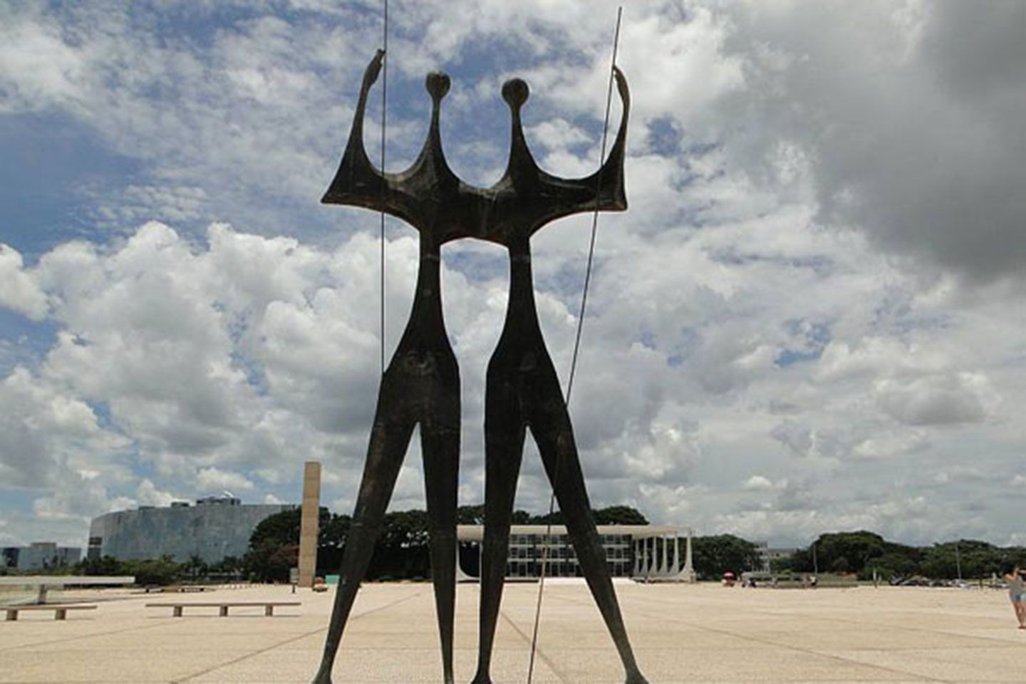 brasilia monumental axis