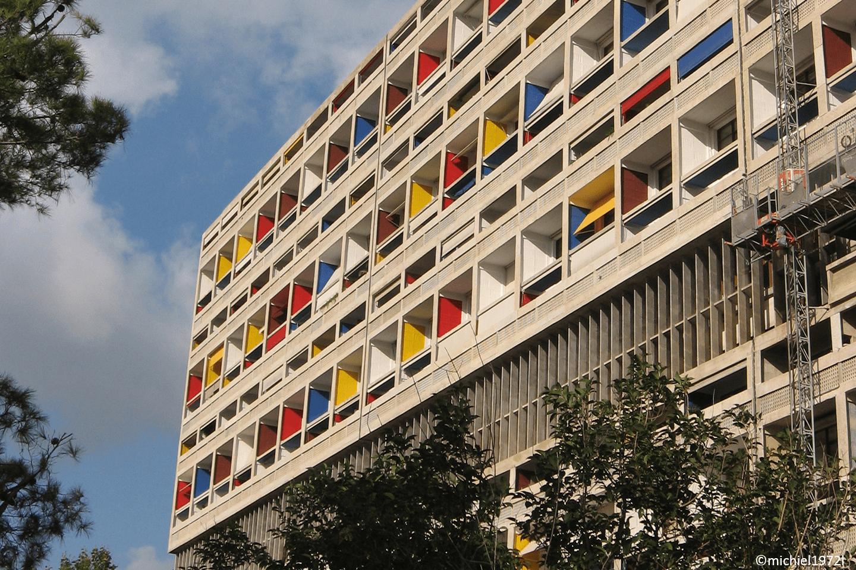 Le Corbusier Unite D Habitation marseille - the radiant city of le corbusier - artchitectours