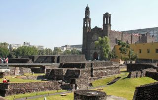 Tlatelolco Neighborhood Mexico