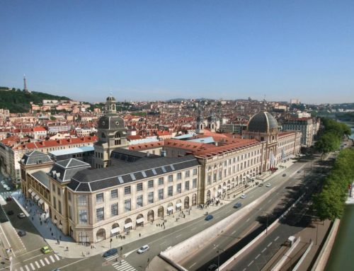 800 YEAR OLD HOSPITAL RECONVERTED INTO A HOTEL IN LYON