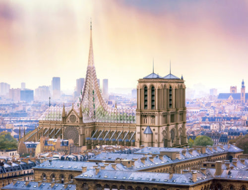 TRIBUTE TO NOTRE-DAME BY VINCENT CALLEBAUT