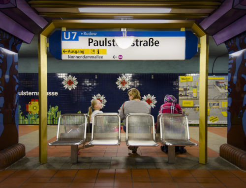THE ARCHITECTURE OF THE BERLIN METRO PHOTOGRAPHED BY FELIPE LAVÍN.