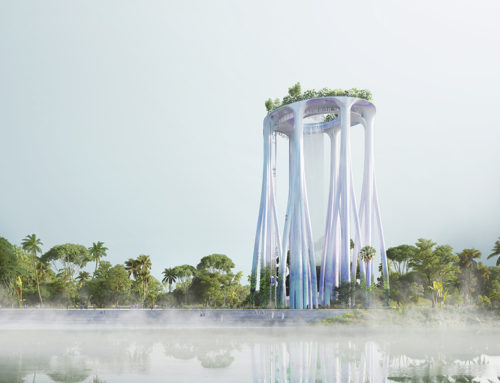 XTU ARCHITECTS REVEAL SINGAPORE MONUMENT INSPIRED BY TROPICAL FORESTS