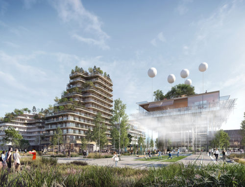 NEW ECO-DISTRICT IN PARIS