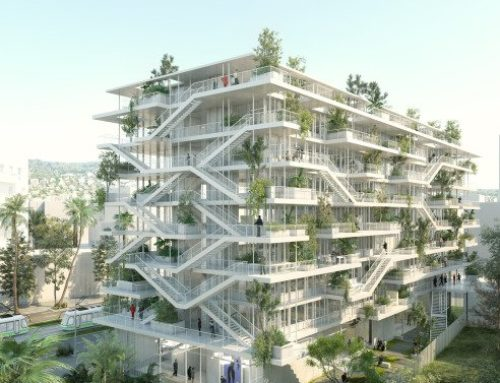 BIOCLIMATIC BUILDING IN LYON