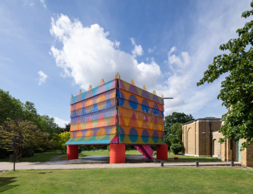 THE COLOUR PALACE PAVILION IN LONDON
