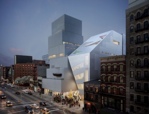 OMA DESIGNS NEW EXTENSION FOR THE NEW MUSEUM IN NEW YORK