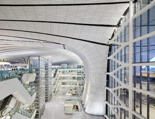 ZAHA HADID ARCHITECTS OPENS AIRPORT IN BEIJING