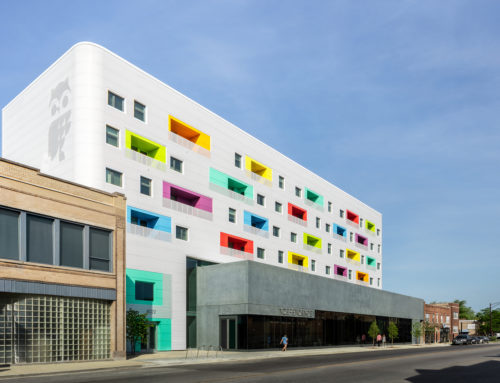 INDEPENDENCE LIBRARY AND HOUSING IN CHICAGO BY JOHN RONAN ARCHITECTS
