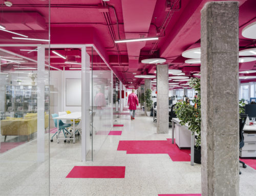 LH135 OFFICES RESTORATION IN MADRID