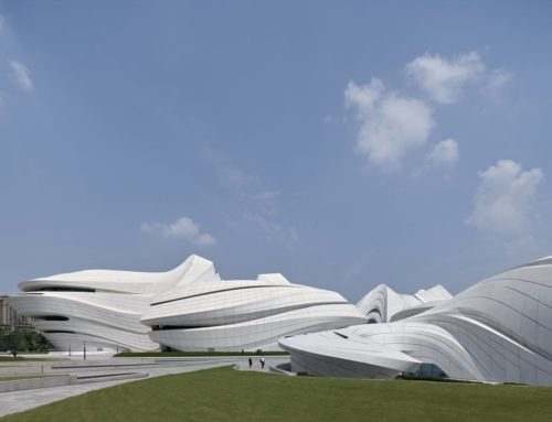 ZAHA HADID'S CULTURAL CENTER IN CHANGSHA SHI