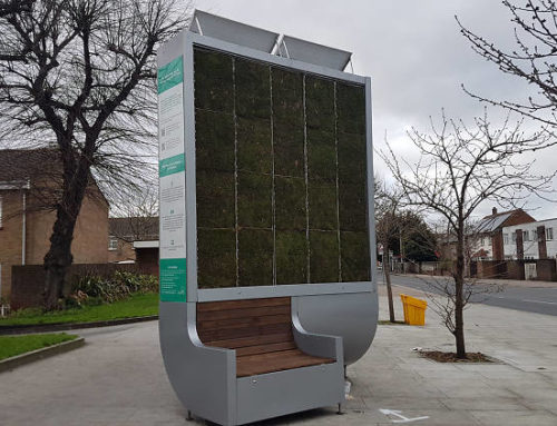 ARTIFICIAL TREES IN LONDON THAT SUCK UP POLLUTION
