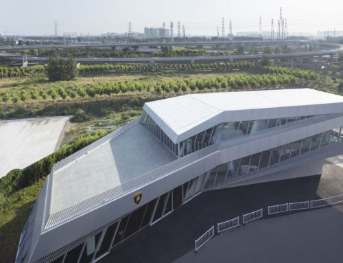 LAMBORGHINI EXHIBITION CENTER BY PMA