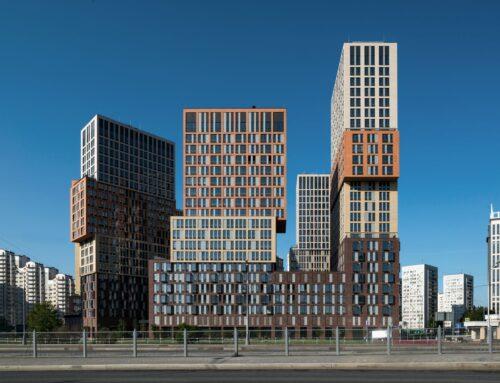 RESIDENTIAL BUILDINGS AT VANDER PARK (MOSCOW) BY DE ARCHITEKTEN CIE